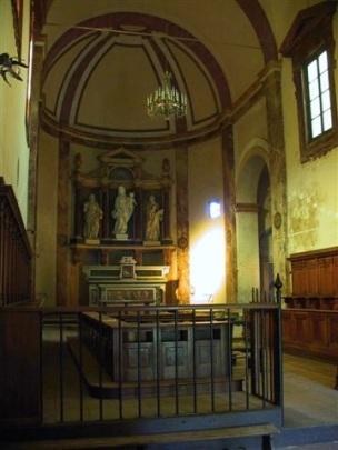 Buonsollazzo - Interno della chiesa