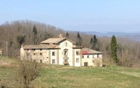 La facciata con lo stemma dei Medici