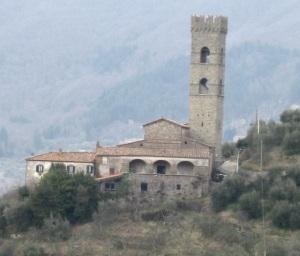 Vellano, la pieve dei santi Sisto e Martino