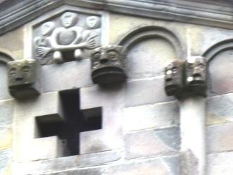 Castelvecchio particolare della facciata