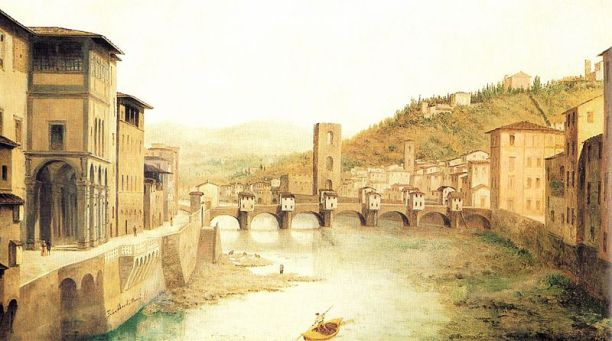 View_of_Ancient_Florence_by_Fabio_Borbottoni_1820-1902_(1