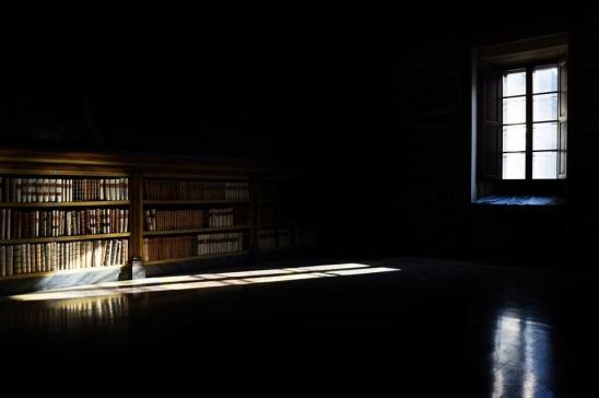 Abbazia di Vallombrosa - la biblioteca