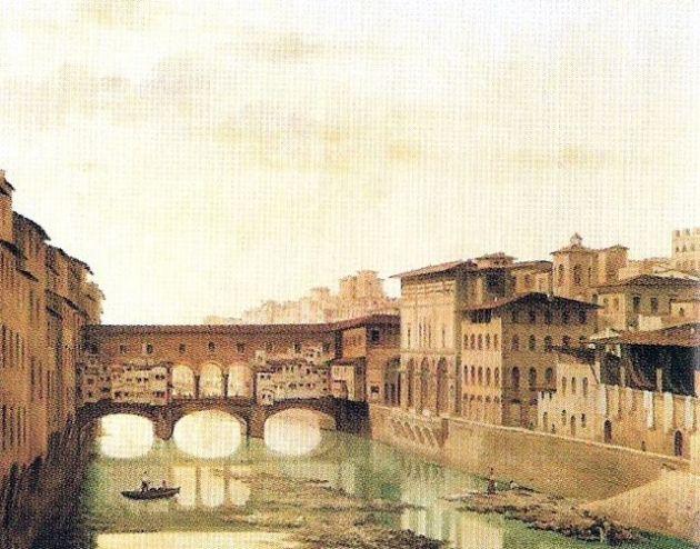 borbottoni ponte vecchio e scorcio del tiratoio delle grazie