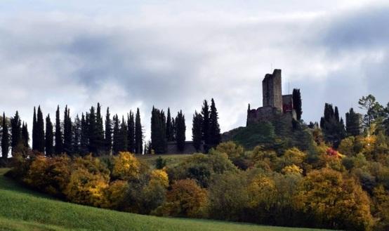castello di Romena XI secolo