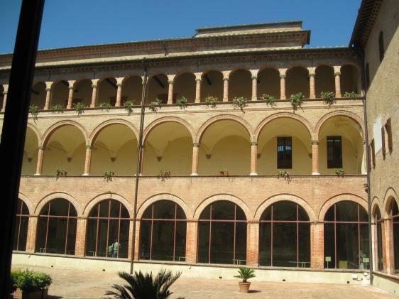 Abbazia di Monte Uliveto - Chiostro