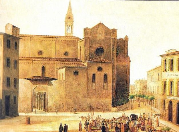 _Fabio_Borbottoni_1820-1902 Santa maria novella