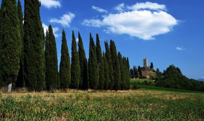 il castello di Romena