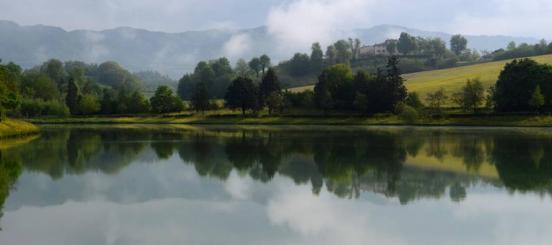 il lago di Vicchio