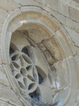 Santa Maria a Talciona: rosone laterale