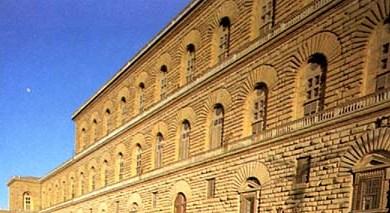 Palazzo Pitti particolare della facciata