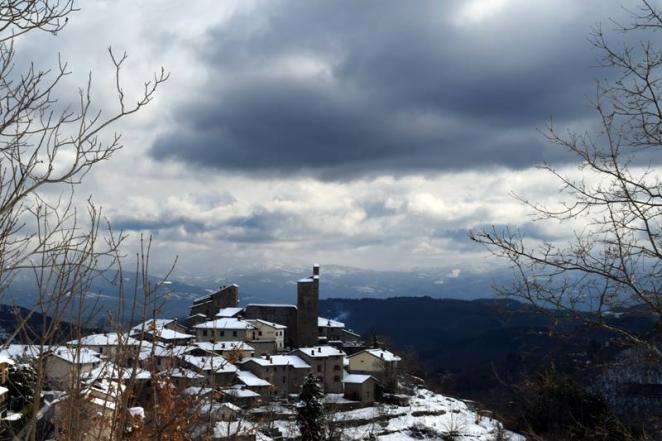 Casentino - Castello di Montemignaio