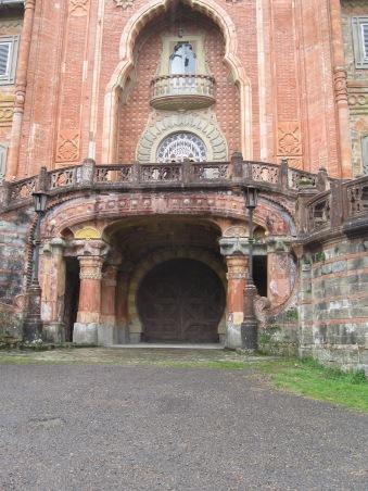 L'ingresso, particolare