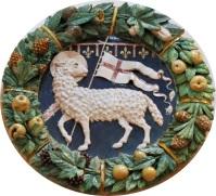 Lo stemma dell'Arte maggiore della Lana
