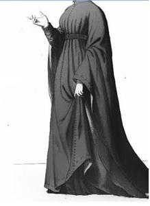 Dama fiorentina del XIV secolo