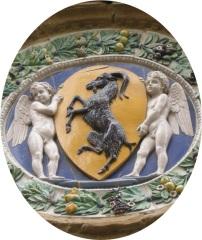 Lo stemma dell'Arte minore dei Beccai