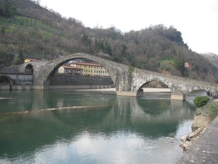 Il ponte della Maddalena, detto del Diavolo