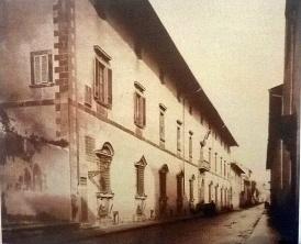 1865, Casino Mediceo di San Marco ovvero Casino delle regie Guardie del Buontalenti in via Larga ora Via Cavour