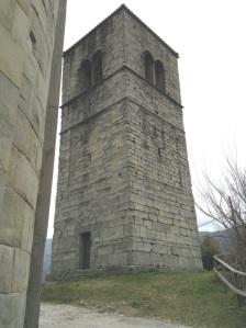 Castelvecchio La torre campanaria della pieve