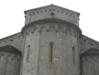 Catelvecchio l'abside della pieve