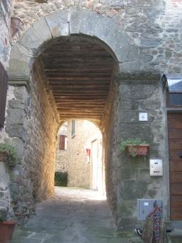 Uno scorcio caratteristico delle castella