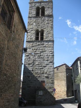 San quirico il campanile