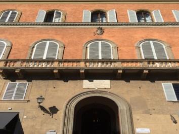 Palazzo Gianfigliazzi Bonaparte in Lungarno Corsini