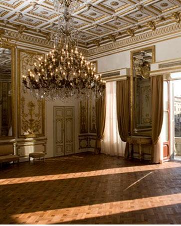 Interno di Palazzo Gianfigliazzi una sala