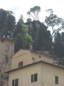 Cetona Uno scorcio della torre della Rocca