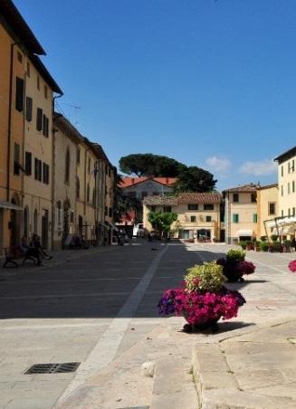 Cetona Piazza Garibaldi