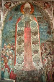Madonna della Misericordia affresco (Foto originale)