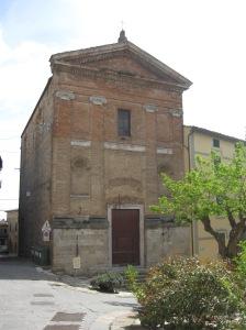 Sarteano La chiesa di San Martino