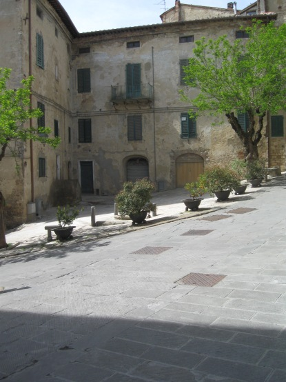 Sarteano Piazza San Martino