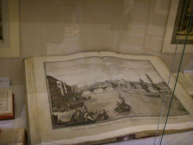 Biblioteca Nazionale di Firenze pagine a stampa che raccolgono le vedute originali di Firenze commissionate dal marchese Andrea Gerini