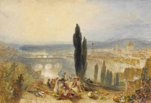 Florence from San Miniato circa 1828 Joseph Mallord William Turner 1775-1851 The British Museum http://www.tate.org.uk/art/work/TW0418