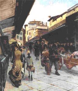 Telemaco Signorini, Ponte Vecchio