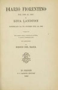 La copertina del Diario fiorentino