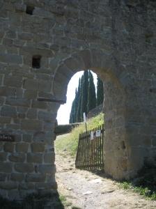 Romena, la porta bacia