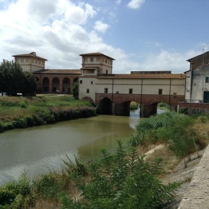 Il ponte a Cappiano sull'Usciana