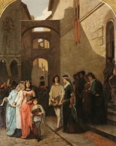 Le nozze di Buondelmonte in un dipinto di F.S. Altamura