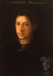 Cristofano dell'Altissimo, Alessandro dei Medici duca di Firenze detto il Moro