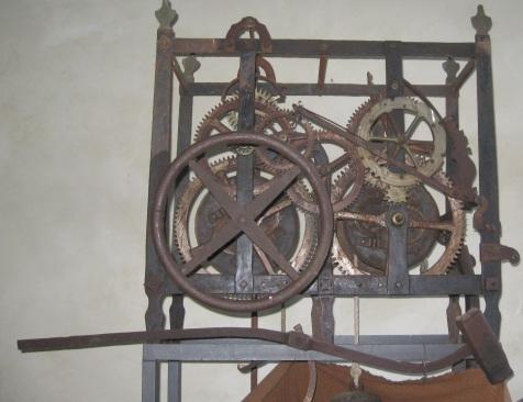 Il meccanismo cinquecentesco dell'orologio