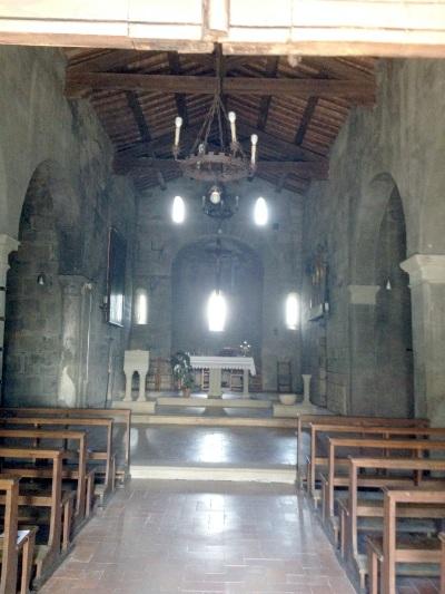 Cetica, San Michele Arcangelo, interno