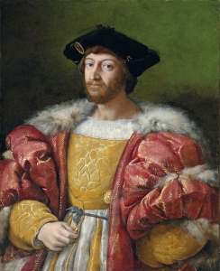 Raffaello, Lorenzo dei Medici, duca di Urbino