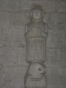Sant'Agata, la statuetta di San Michele