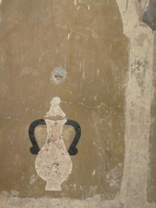 Sant'Agata, vaso sotto un'arcata, decorazione della