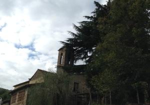 San Romolo, la vecchia chiesa