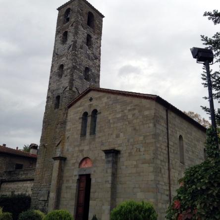 Pieve di San Cresci, la facciata