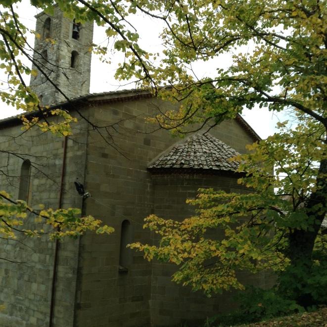 San Cresci , l'abside