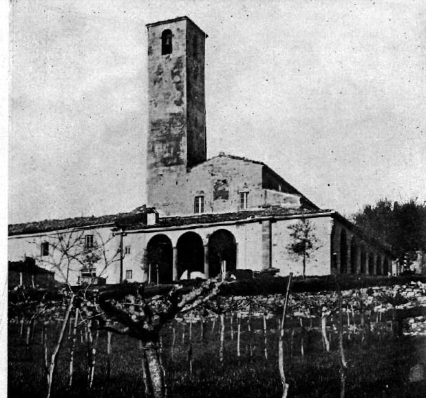 La pieve dopo i rifacimenti operati nel 1703/4