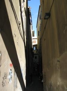 Chiasso Altviti dal lungarno Acciaioli